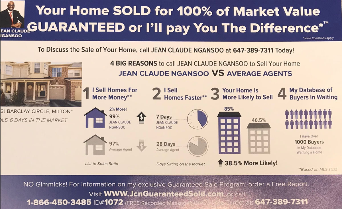 Home SOLD 100% Market Value GUARANTEED - Click for Free Report